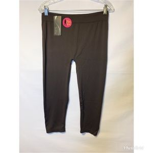 Sofra Leggings NWT Brown Plus Size XL 14 Stretchy